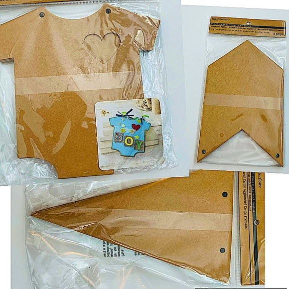 3 pack of chipboard albums.